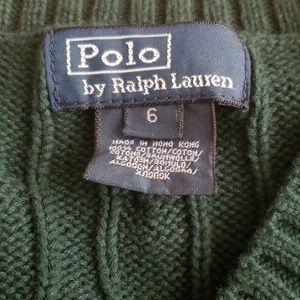 Polo by Ralph Lauren Shirts & Tops - polo ralph lauren boys vest green  size 6